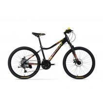 Xe đạp trẻ em VIPER COMP (trên 10 tuổi) (đen) (1 nhún) (3 dĩa - 7 líp)