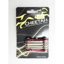 Bộ tool xe đạp mini CHEETAH CT-9FR (9 chức năng) (đỏ)