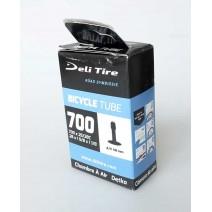 Ruột xe đạp DELI Tire 700 x 32 - 40c (van Mỹ - 48mm)