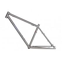 Sườn xe đạp leo núi DarkRock DR-1 (màu chrome)