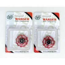 Bánh xe đề Warder WDP-04-RD (đỏ) (cặp)