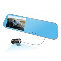 Camera hành trình gương JADO D610s HD 1080P Dual Camera (kèm thẻ 8G)