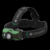Đèn đeo trán Led Lenser MH8 (600 lumen) (pin sạc) (3 chế độ màu) (xanh lá cây)