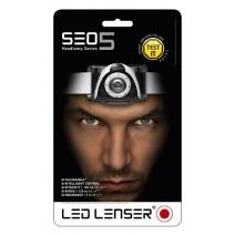 Đèn đeo trán Led Lenser SEO 5 (xám) (180 lumen)