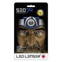 Đèn đeo trán Led Lenser SEO 7R (220 lumen) (pin sạc) (xanh dương)