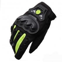 Găng tay xe máy dài ngón Scoyo MC29 (xanh lá cây)