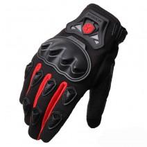 Găng tay xe máy dài ngón Scoyo MC29 (đỏ)