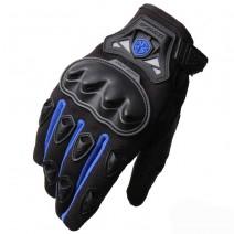 Găng tay xe máy dài ngón Scoyo MC29 (xanh dương)