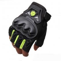 Găng tay xe máy hở ngón Scoyo MC29 (xanh lá cây)
