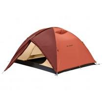 Lều dành cho 2 đến 3 người Vaude Campo 3P (cam đỏ)