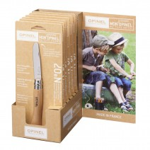 Dao Opinel Round Ended No7 Stainless Steel (màu gỗ tự nhiên) (OPI 001696)