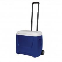 Thùng đá có bánh xe kéo Igloo Island Breeze Roller 26L (xanh dương) (38 lon)