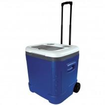 Thùng đá có bánh xe kéo Igloo Ice Cube Roller 57L (xanh dương - xám) (90 lon)