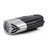 Đèn pin xe đạp siêu sáng Promend ET-128-R3 (đen bạc) (sạc usb)