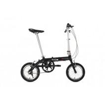 Xe đạp gấp siêu gọn WindSpeed F1 (đùm số - 3 tốc độ) (đen)