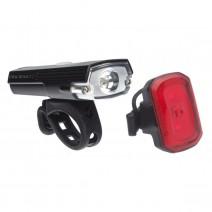 Combo đèn xe đạp chiếu sáng BLACKBURN DayBlazer 400 & đèn tín hiệu BLACKBURN Click