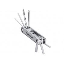 Bộ mini tool TOPEAK X-TOOL+ (bạc) (11 chức năng) TT2572S