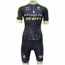 Bộ quần áo xe đạp Mitchelton Scott