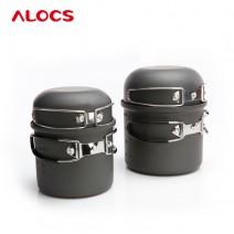 Bộ nồi nấu ăn ALOCS CW-C16 (4 món - dành cho 2 - 3 người)