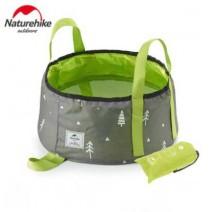 Thau đựng nước dã ngoại NATUREHIKE (xanh lá cây) (16L)