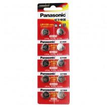 Pin nút Panasonic AG10 (LR1130 / LR54 / 389 / 189 / L1131) (vỉ 10 viên)
