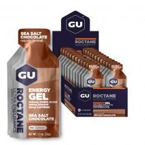 Gel năng lượng GU Roctane Energy Gel (mùi chocolate muối biển) (nguyên hộp 24 gói)