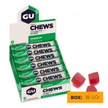 Kẹo năng lượng GU Energy Chew (mùi dưa hấu) (nguyên hộp 18 gói)