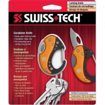 Móc chìa khóa SwissTech Carabiner Knife