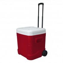Thùng đá có bánh xe kéo Igloo Ice Cube Roller 57L (đỏ) (90 lon)