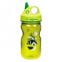 Bình nước trẻ em Nalgene Grip-n-Gulp 350ml (xanh lá cây - núi rừng) (NG 2182-1812)