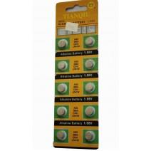 Pin TIAN QIU AG3 (LR41-392A-L736-RW37-V384) (vỉ 10 viên)