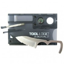 Thẻ sinh tồn Tool Logic Survival Card Compass/Fire Starter I 8 in 1 (TL SVC1)