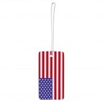 Thẻ hành lý Lewis N. Clark Luggage Tag (cờ Mỹ) (LNC ID24)