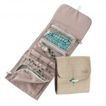 Túi đựng trang sức Lewis N. Clark Plaid Jewelry Roll (LNC 1557BGE)