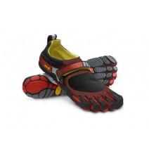 Giày 5 ngón chân Vibram BLKILA (đen / đỏ)