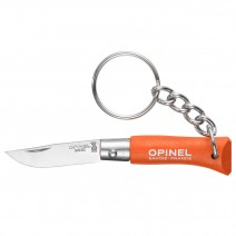 Dao xếp Opinel No2 Keychain Knife (cam) (OPI 001428)