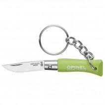 Dao xếp Opinel No2 Keychain Knife (xanh lá cây) (OPI 001428)