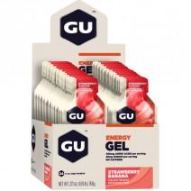 Gel năng lượng GU Energy Gel (mùi dâu tây chuối) (nguyên hộp 24 gói)