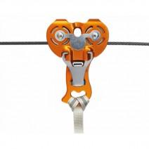 Ròng rọc trượt dây KONG Italy ZIP EVO Double Pulley (KI 826040400KK)