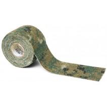 Dây quấn ngụy trang Camo Form Reusable Heavy-Duty Fabric Wrap (hoa văn Woodland Digital) (SKU 19412)