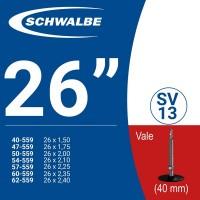 Ruột xe đạp SCHWALBE SV13 26'' (van pháp)