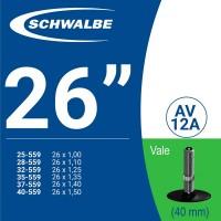 Ruột xe đạp SCHWALBE AV13 26'' (van mỹ)