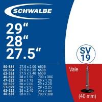 """Ruột xe đạp SCHWALBE SV19 27.5"""" - 28"""" - 29"""" - 700c (van pháp)"""
